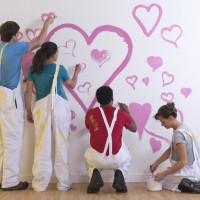 Travaux de peinture aménagement appartement pièces de la maison